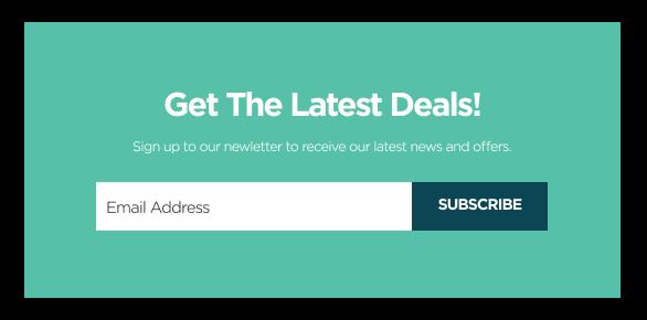 Newsletter popup